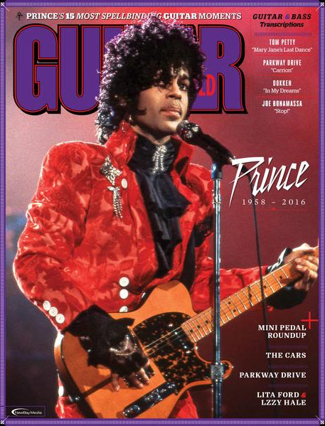 Guitar World magazine cover image